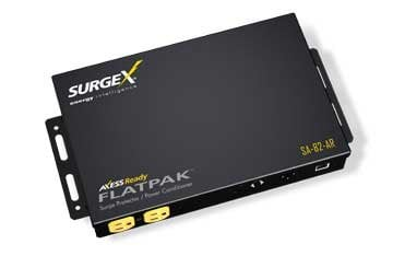 SurgeX SA-82-AR  3 Outlet Power Conditioner and Surge Protector, IP Enabled SA-82-AR