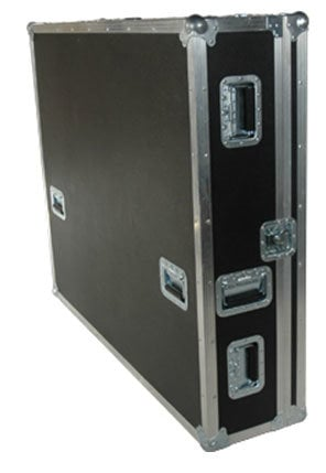 Grundorf Corp T8-MYAMLS916-DHB Tour 8 Mixer Case, LS916 with Doghouse, Black T8-MYAMLS916-DHB