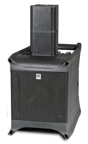 HK Audio LUCASNANO300 Portable PA System, 1 subwoofer and 2 speakers LUCASNANO300