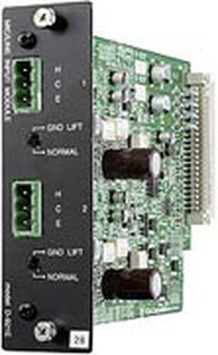 TOA D921E 2-channel Terminal Block Input Module for TOA D-901 Mixer D921E