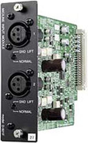 TOA D921F  2-channel XLR Input Module for TOA D-901 Mixer D921F