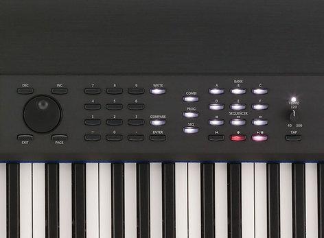 Korg Krome 73 73-Key Music Workstation Keyboard KROME-73