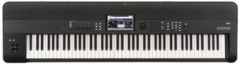 Korg KROME-88 Krome 88 88-Key Music Workstation Keyboard KROME-88