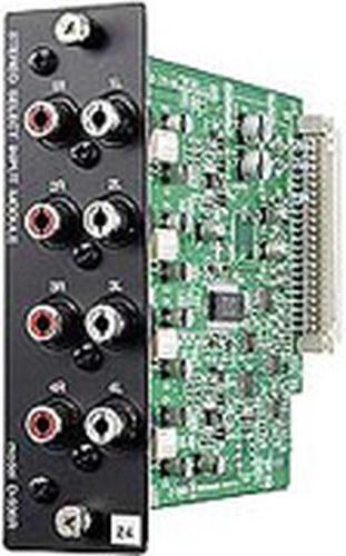 TOA D936R  4 Stereo RCA Input Module for TOA D-901 Digital Mixer D936R