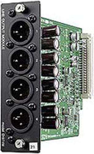 TOA D971M  4-channel XLR Output Module for TOA D-901 Digital Mixer D971M