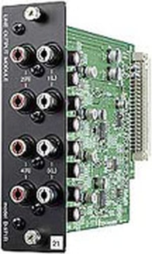 TOA D971R  4-channel RCA Output Module for TOA D-901 Digital Mixer D971R