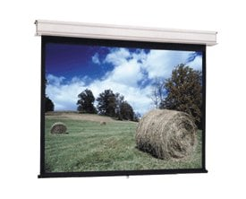 "Da-Lite 34710  94"" Advantage Manual Ceiling Recessed Projection Screen, Matte White, with CSR 34710"