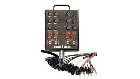 Whirlwind MP08-50 Power Snake, 8 Inputs x 1 Return, 50 Ft MP08-50