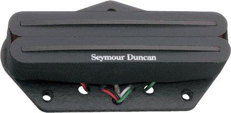 Seymour Duncan STHR-1B  Hot Rails Lead/Bridge Pickup for Telecaster, Black STHR-1B