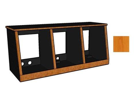 Sound Construc.& Supply R14-3-SL  14 Space/3-Bay Studio Rack R14-3-SL
