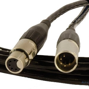 Apollo Design Technology AC-5CABLE-5  5-Pin DMX Cable, 5' AC-5CABLE-5