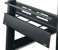 Middle Atlantic Products HHCM-1 1 Rackspace Hinged Horizontal Cable Manager HHCM-1
