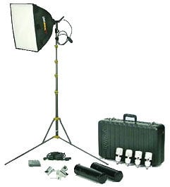 Lowel Light Mfg LC-94XDLBZ Rifa 44 eXtra/Flo Kit with LB-30 Soft Case LC-94XDLBZ