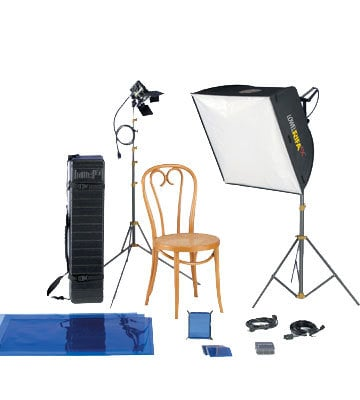 Lowel Light Mfg LCP-966LB Rifa eX Pro 66 Kit with LB-40 Soft Case LCP-966LB