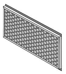 Lowel Light Mfg PRM-433 30° Honeycomb Grid (Model 400) PRM-433