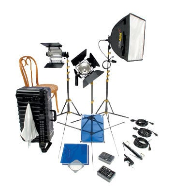 Lowel Light Mfg TOR-94LB Tota/Omni Core 44 Kit with LB-35 Soft Case TOR-94LB