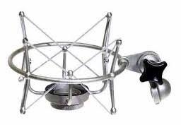 Neumann EA 1 Elastic Suspension Mount for TLM 103, TML 193, M 147 Microphones in Satin Nickel Finish EA1-NEUMANN-NICKEL