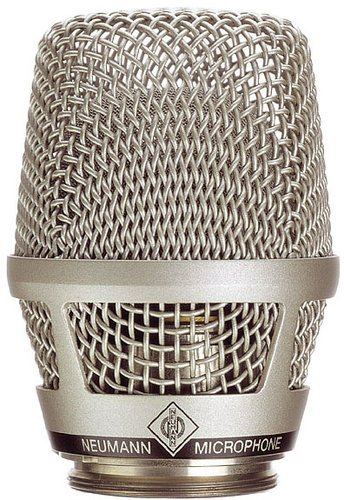 Neumann KK 104 S Cardioid Capsule Head in Satin Nickel Finish for Sennheiser SKM 5000 N, 5200 Wireless Systems KK104S-NI