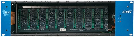 Automated Processes Inc 500-VPR  10-Slot Rack, with Power Supply 500-VPR