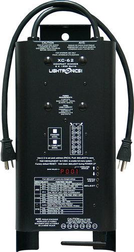 Lightronics Inc. XC-62-UB 6 Channels x 1200W Wireless DMX Portable Dimmer with 12 Amp Mains Circuit Breaker XC62-UB