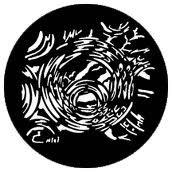 Rosco 77575 Reflective Bubbles Gobo 77575