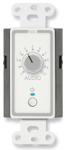 Radio Design Labs D-ECR1L  Power On/Off & Level Remote Control in White D-ECR1L