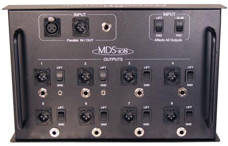 RapcoHorizon Music MDS-108  Media Distribution System MDS-108