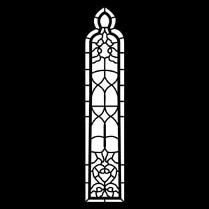 Apollo Design Technology MS-6092 Steel Gobo, Church Window MS-6092