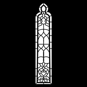 Apollo Design Technology MS-6092 Steel Gobo, Church Window MS-6092