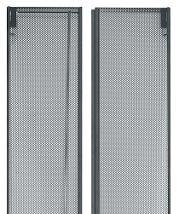 Middle Atlantic Products MW-CLVRD-44 44RU Fully Vented Split Rear Door for WMRK, WRK, MRK, VRK, VMRK Series Enclosures MW-CLVRD-44
