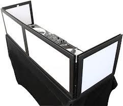 "Odyssey SWFTT5816B Scrim Werks 58""Wx16""H Table Top DJ Facade SWFTT5816B"