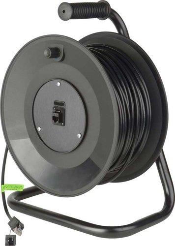 TecNec MKR-TC-350PS  350ft Connect-N-Go DataTuff Belden Cat5e Cable Reels with ProShell RJ45 Connectors MKR-TC-350PS
