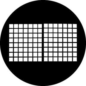 Rosco Laboratories 78489 Warehouse Windows Gobo 78489