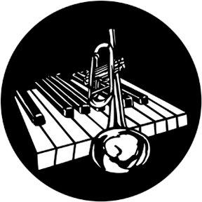 Rosco Laboratories 77933 Piano Bar Gobo 77933