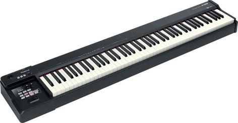 Roland A-88 88-Key MIDI Keyboard Controller in Black A88