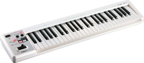 Roland A-49 49-Key MIDI Keyboard in White A49-WH