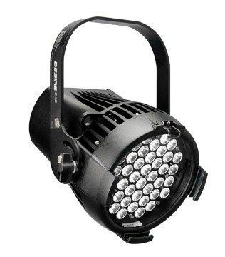 ETC/Elec Theatre Controls SELD40HI-0A-C Selador Desire D40 Studio HD LED in Black, Twist-Lock Connector SELD40HI-0A-C