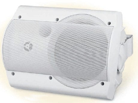OWI Incorporated AMPLV602W  26W Low Voltage Amplified Surface Mount Speaker in White AMPLV602W