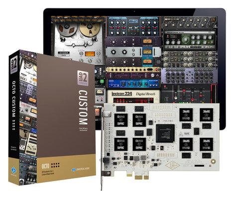 Universal Audio UAD-2 OCTO Custom UAD-2 OCTO Custom PCIe DSP Accelerator Package UAD2-OCTO-CUSTOM