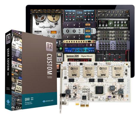 Universal Audio UAD2-QUAD-CUSTOM UAD-2 QUAD Custom UAD-2 QUAD Custom PCIe DSP Accelerator Package UAD2-QUAD-CUSTOM