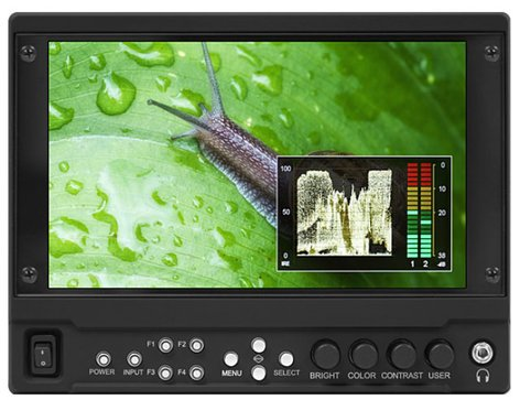 "Marshall Electronics V-LCD70MD 7"" High Brightness Modular Camera-Top Monitor (No Modules Included) V-LCD70-MD"