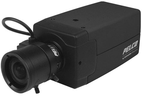 Pelco C20-CH6 1/3-Inch CCD High-Resolution NTSC Color Box Camera, 24VAC/12VDC PE-C20CH6