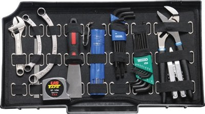 Pelican Cases PC0456 Vertical Tool Pallet for 0450 Mobile Tool Chest PC0456