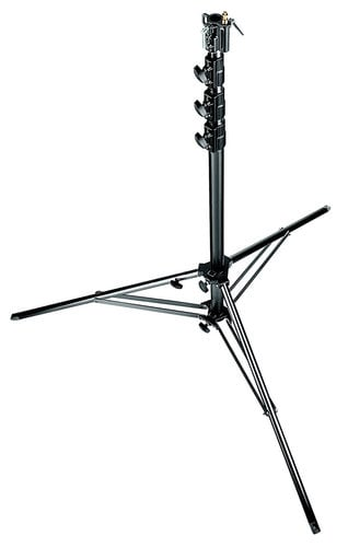 Manfrotto 269BU Black 14.9' Super Alu Stand with Leveling Leg 269BU