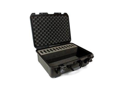 Williams Sound CCS-042-DW  Large Heavy Duty Briefcase, 12 Slot CCS-042-DW