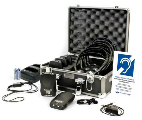 Williams Sound FM ADA KIT 37 RCH ADA Portable Listening System FM-ADA-KIT-37-RCH