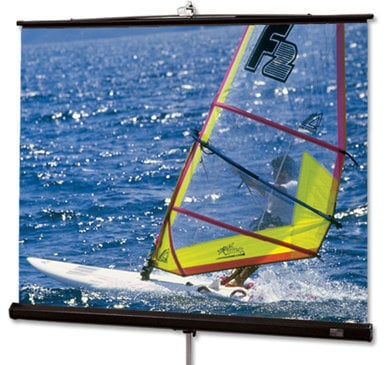 """Draper Shade and Screen 215024  109"""" Diplomat R Portable Projection Screen, Matte White 215024"""
