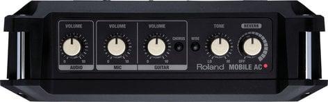 "Roland MOBILE AC 5W 2x4"" Portable Acoustic Chorus Guitar Amplifier in Black MOBILE-AC"