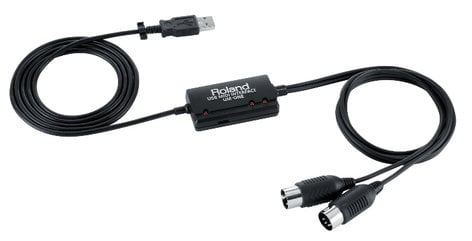 Roland UM-ONE mk2 iPad-Compatible USB MIDI Interface UM-ONE-MK2