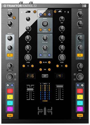 Native Instruments Traktor Kontrol Z2 DJ Controller with Traktor Scratch Software TRAKTOR-KONTROL-Z2